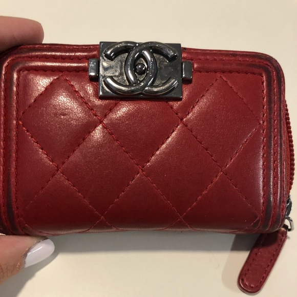 7cc16b0a5e1db4 CHANEL Bags | Boy Zipped Cardholder | Poshmark